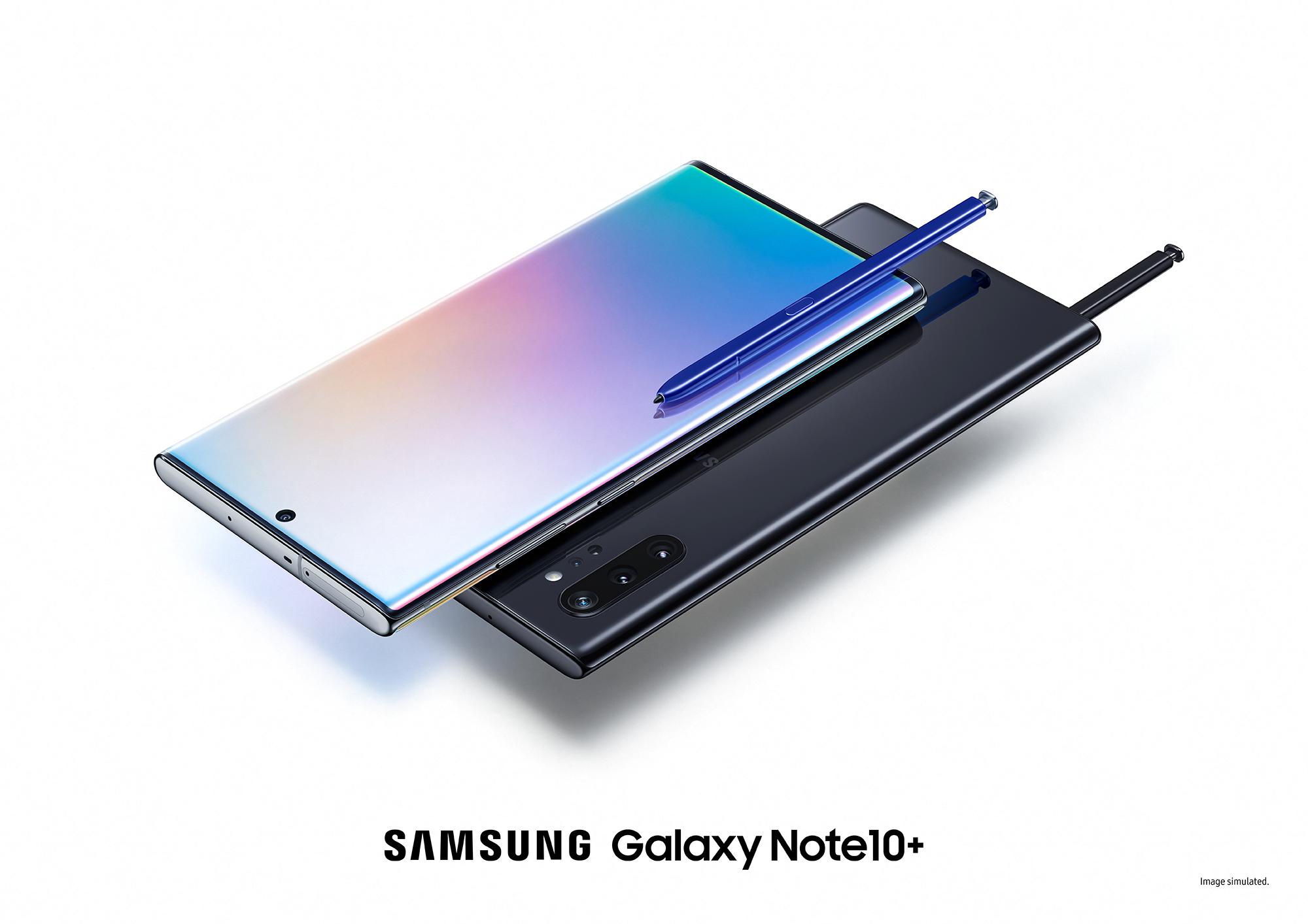 گوشی موبایل سامسونگ مدل galaxy note 10 plus با ظرفیت 256 گیگ