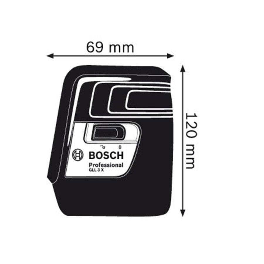 تراز لیزری بوش مدل GLL 3 X