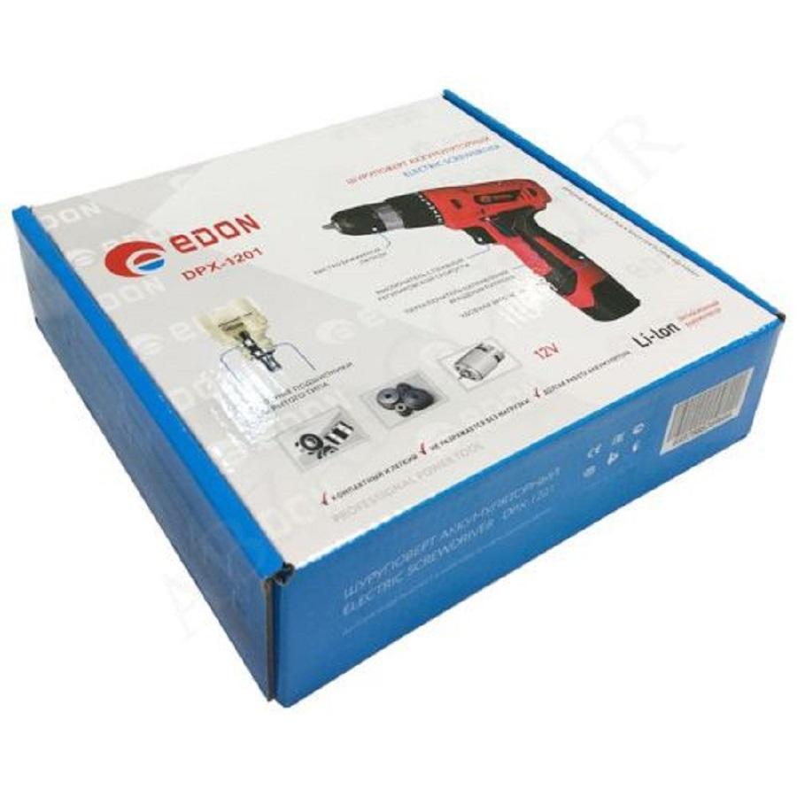 دریل پیچ گوشتی شارژی ادون مدل Edon DXP-1201